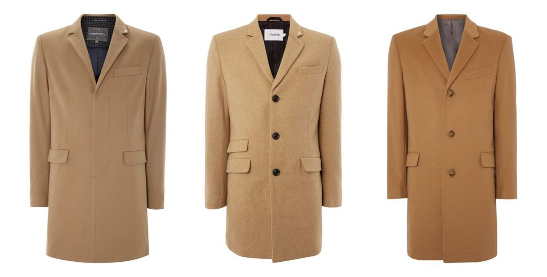 High Street Camel Overcoats