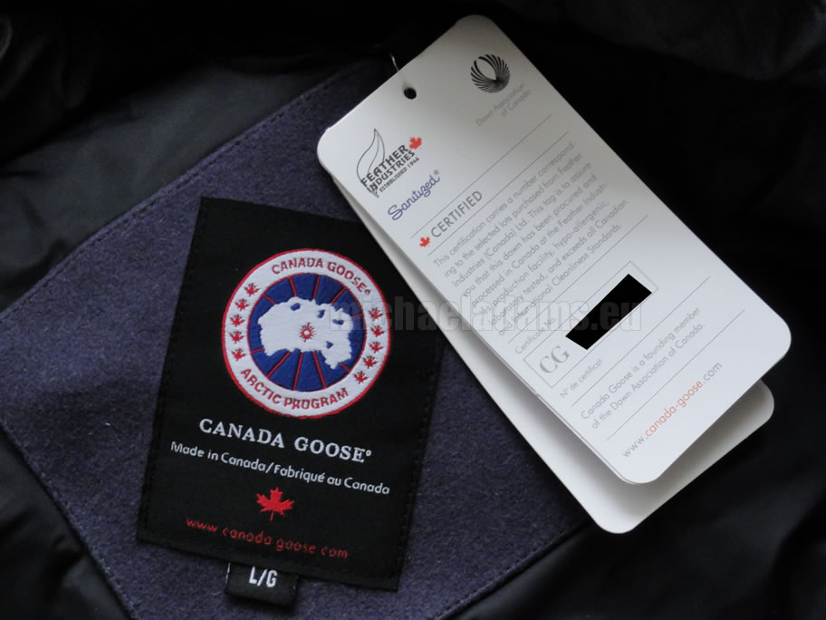 how do you know if your Canada Goose' is fake