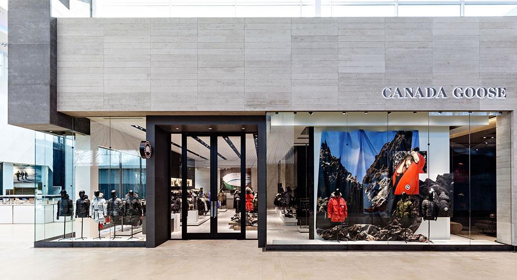 canada goose retailers quebec