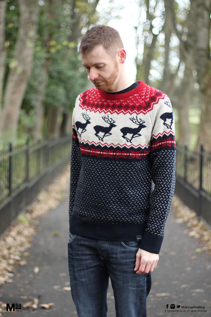 The Best Men's Christmas Jumpers 2015 | Michael 84