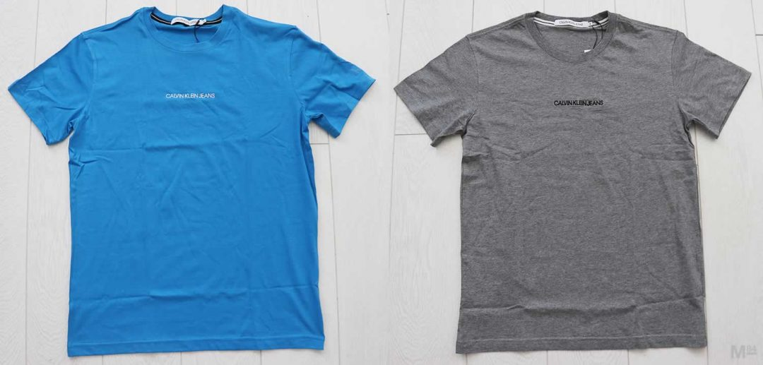 New In The Wardrobe: Calvin Klein T Shirts With Small Text Branding - Michael 84