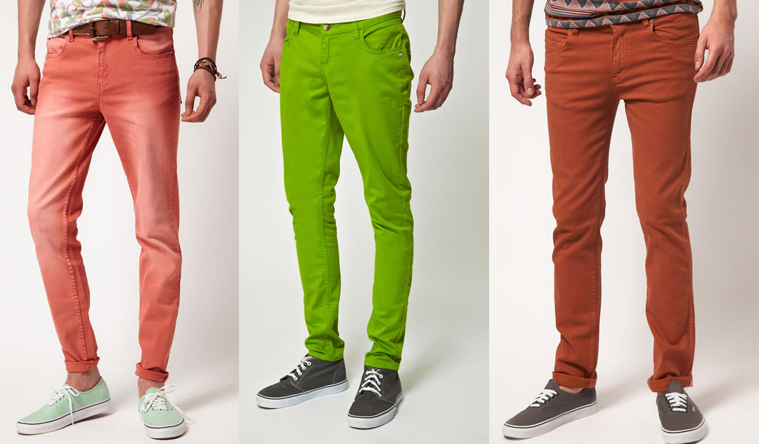 Fashion Trend: Coloured Jeans - Coloured Denim For 2012 | Michael 84