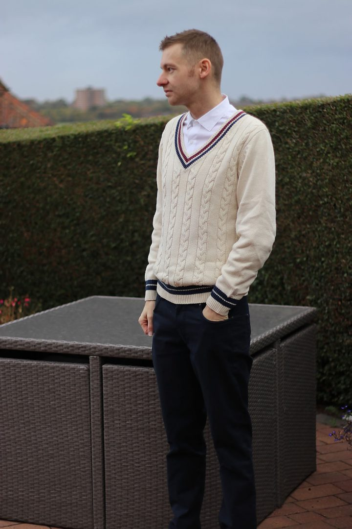 b9263dcbca1320 Daily Style: Cable Knit Cricket Jumper | Michael 84