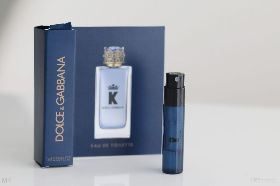 Dolce And Gabbana K Aftershave Sample Preview
