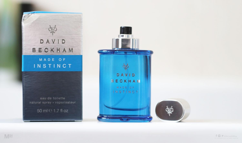 david beckham made of instinct fragrance michael 84. Black Bedroom Furniture Sets. Home Design Ideas