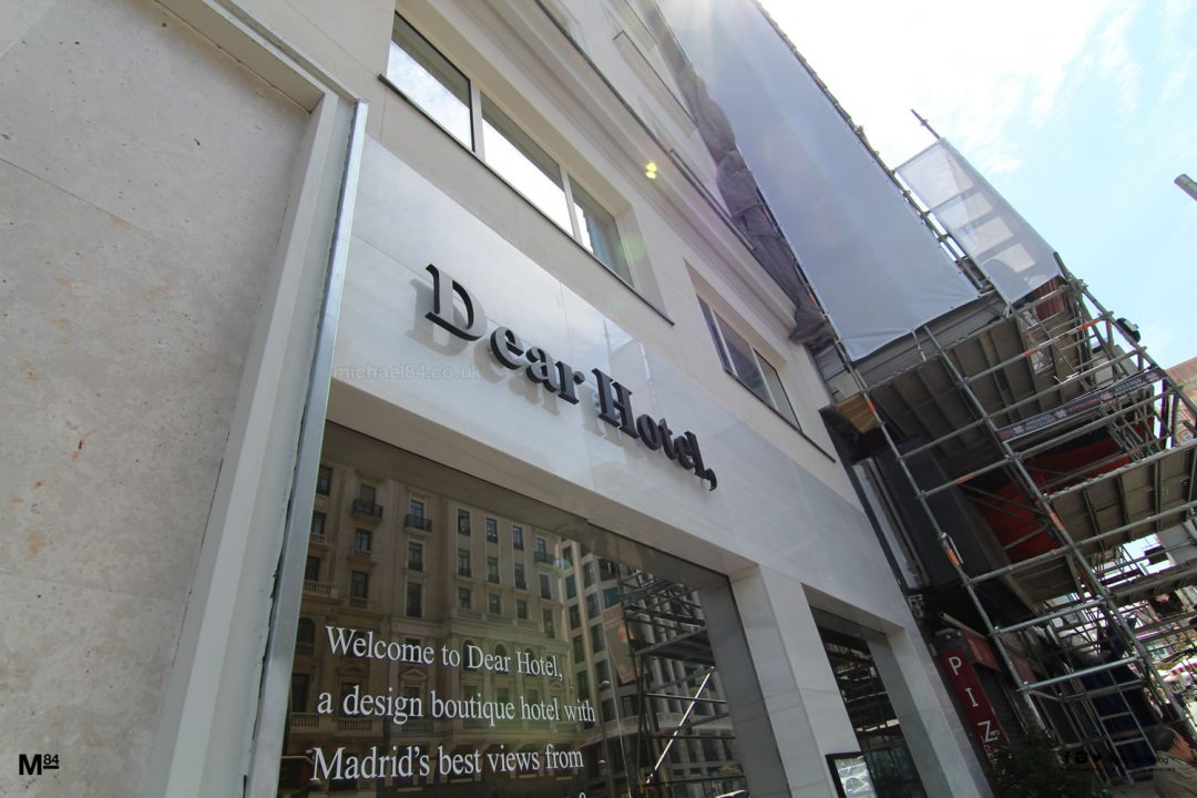 Dear Hotel Madrid Review Travel Blog Michael 84
