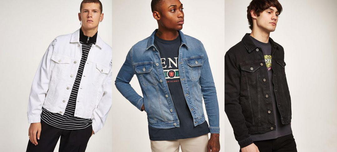 Topman denim jean jackets