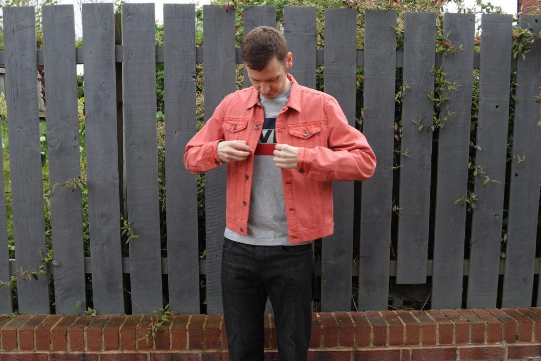 Denim Jacket With Denim Jeans