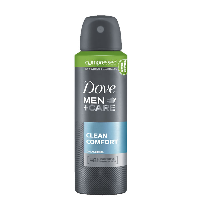 Dove+MenCare Clean Comfort Spray