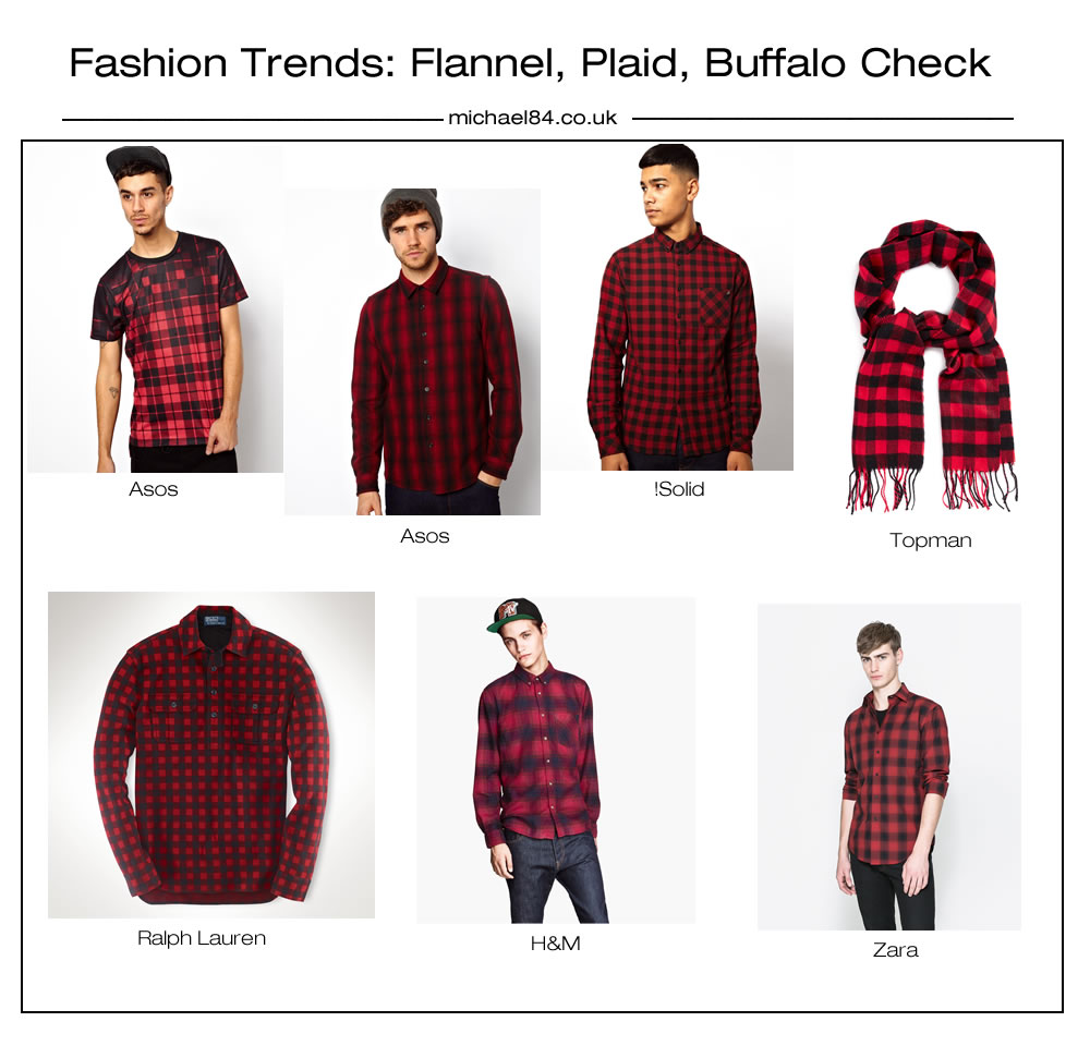 Fashion Trends Checks Plaid Flannel Prints And