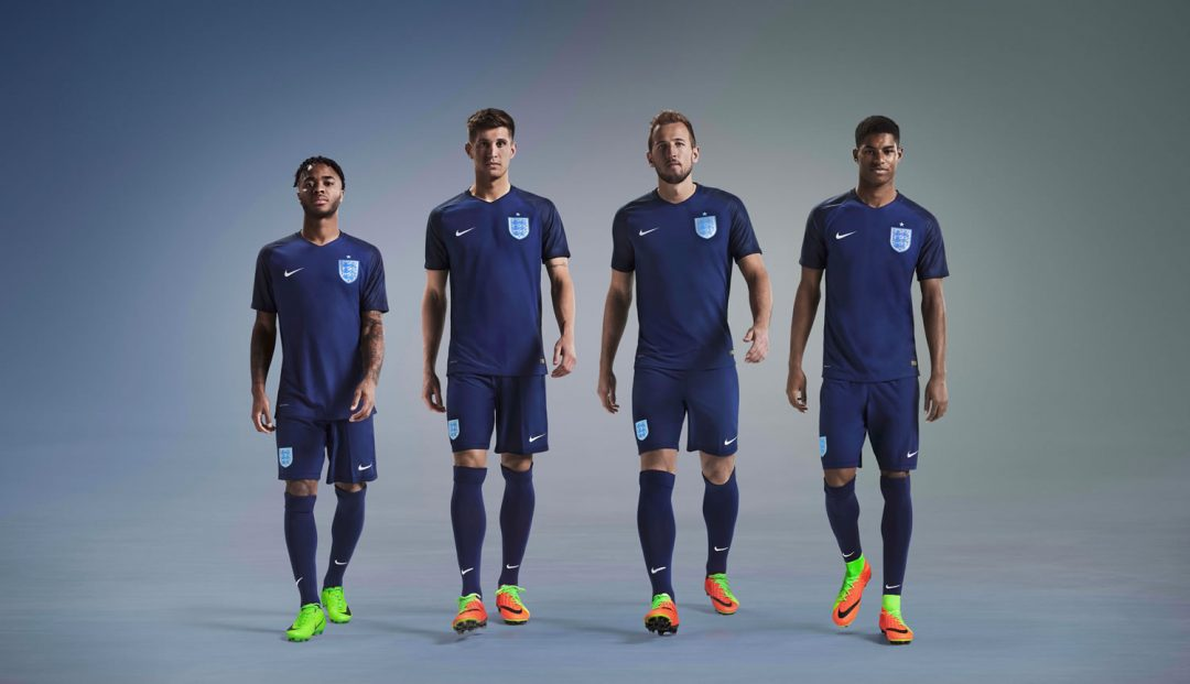 England squad debut 2017 away kit