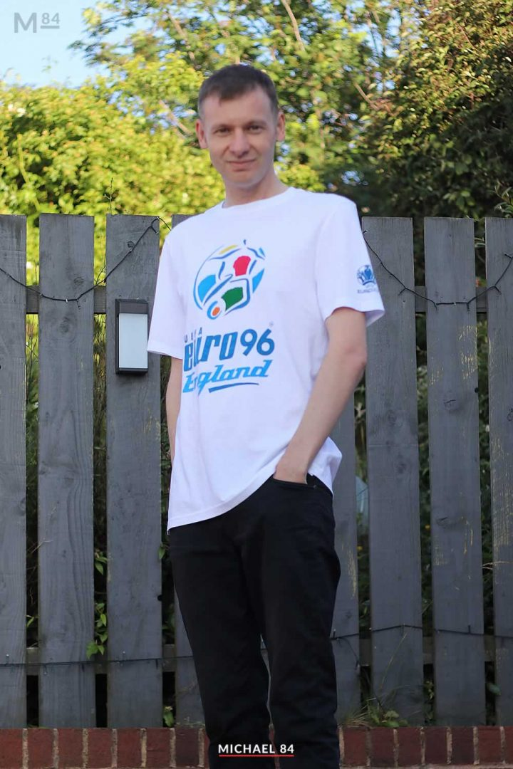 Euro 96 Reissued T Shirt Outfit