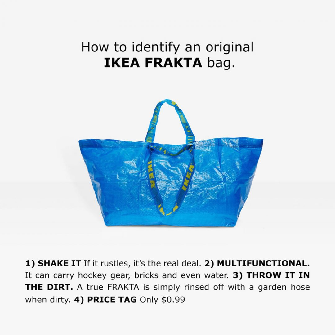 The Genuine IKEA Frakta Bag