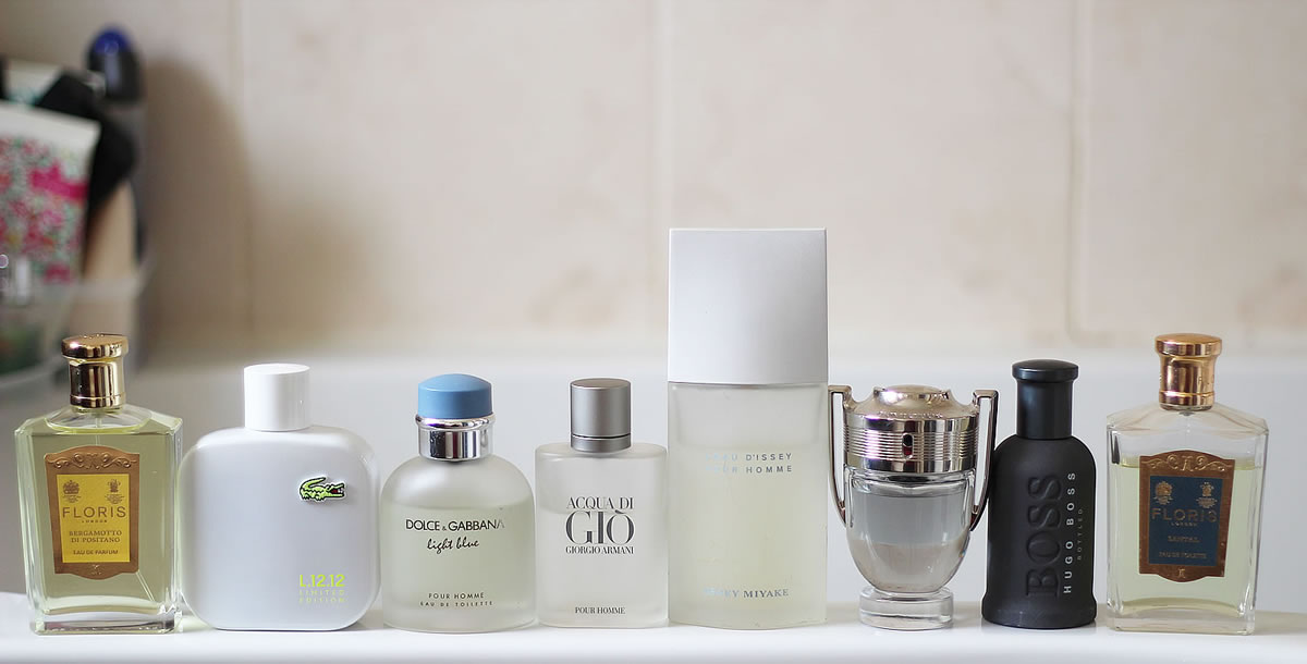 Favourite Men's Summer Fragrances