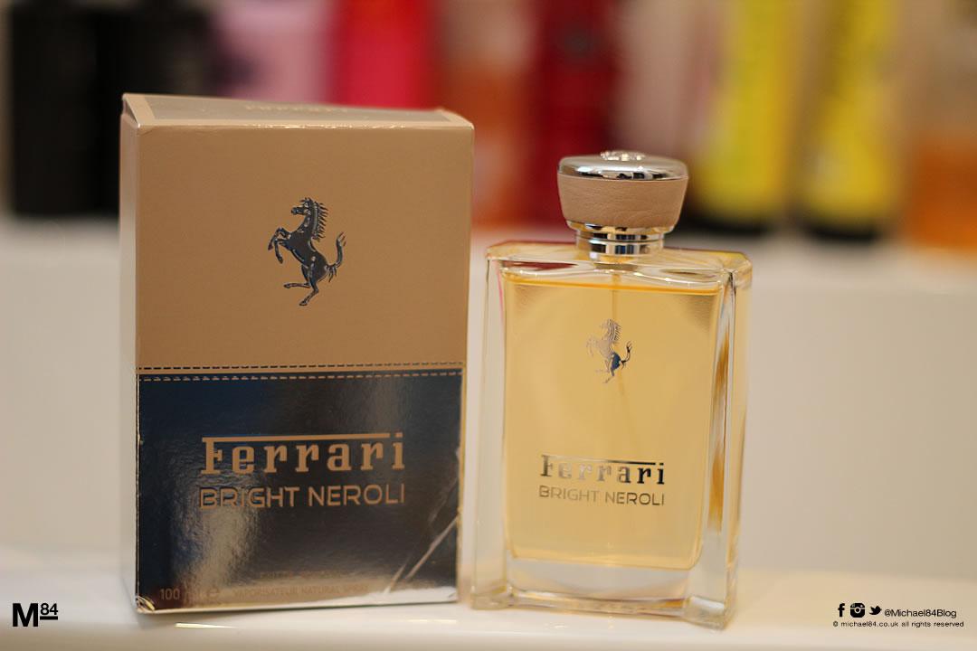 men 39 s fragrance review ferrari bright neroli michael 84. Black Bedroom Furniture Sets. Home Design Ideas