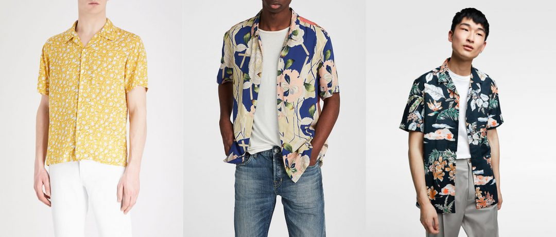 Best Of The Rest Mens floral shirts