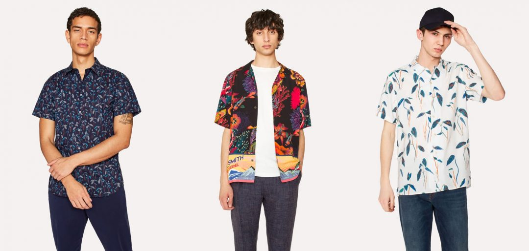 Floral Shirts By Paul Smith