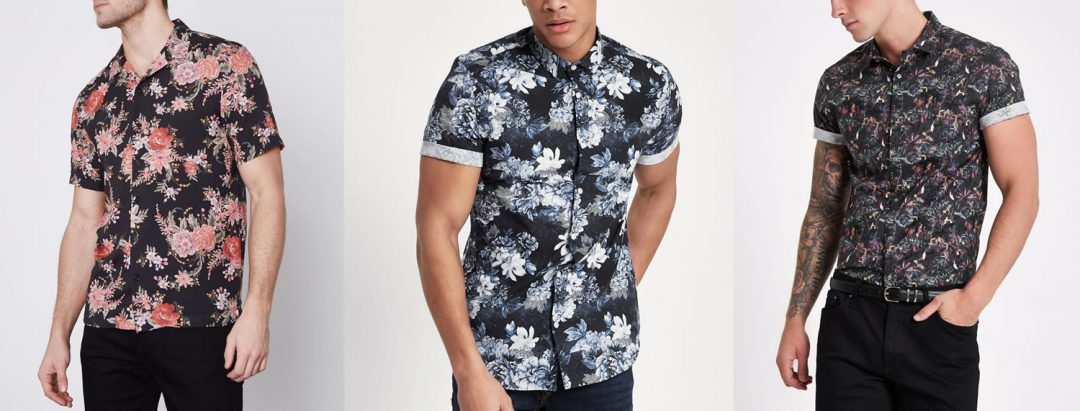 Cheap floral printed Shirts