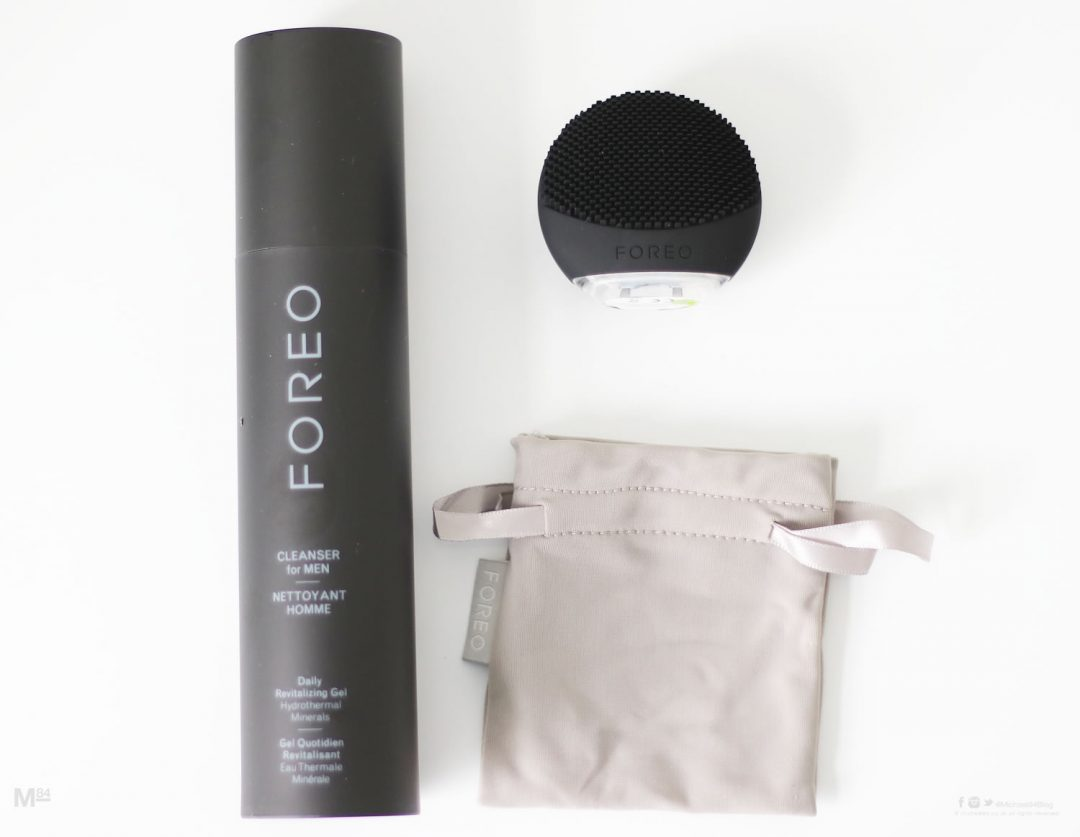 Foreo Luna go And Cleanser For Men