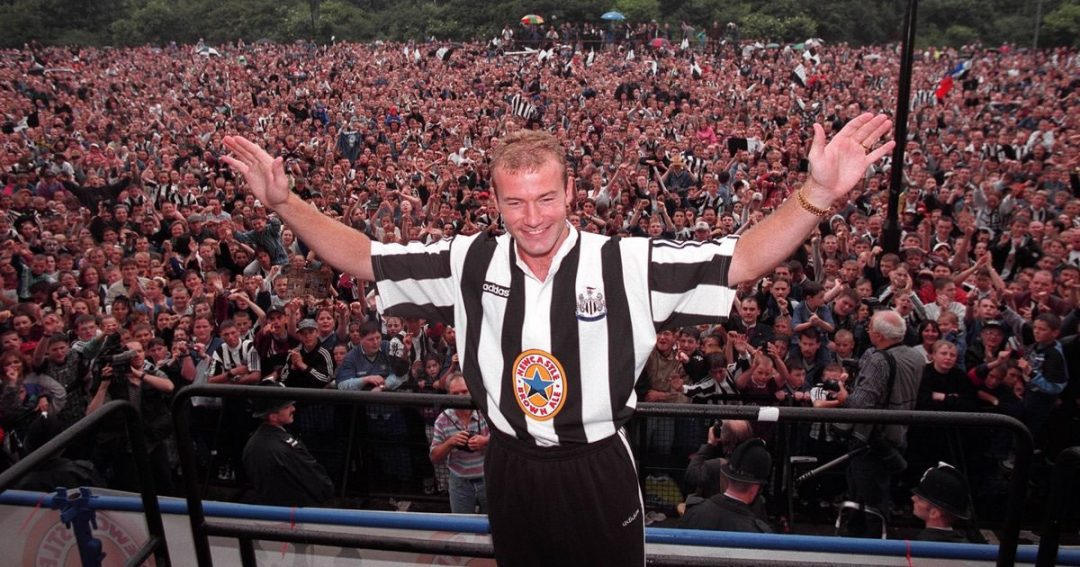Alan Shearer Signs World Record Transfer for Newcastle