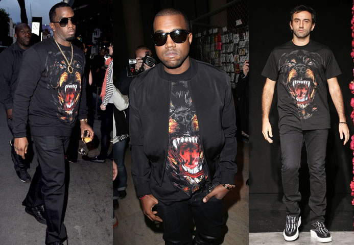 02a3f8475a Givenchy Dog Print T Shirt