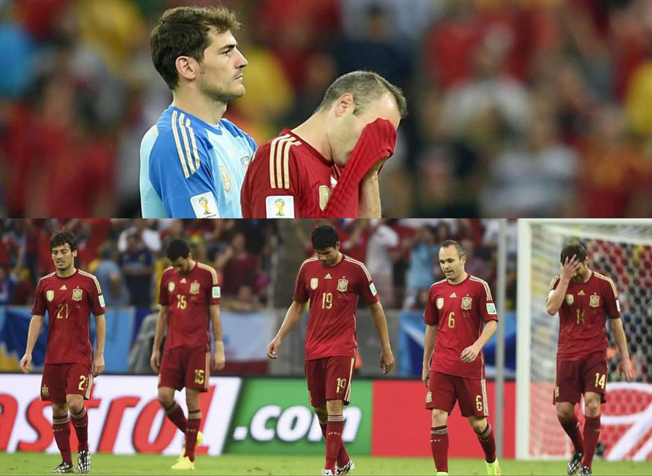 The End Of An Era For Spain? - World Cup 2014