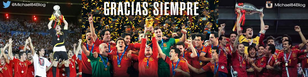 Gracias Siempre - Thank You Spain - Viva La Roja!