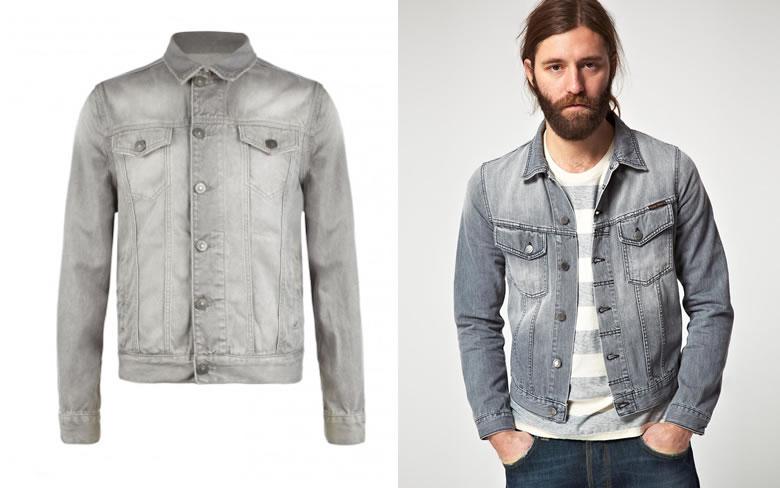 how to wear grey jacket