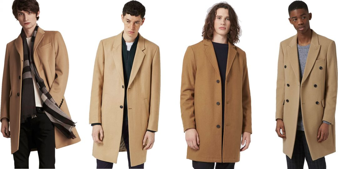 Men's Fashion Trends - The Camel Overcoat