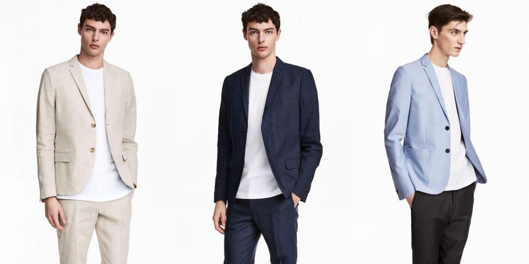 H&M linen blazers for Summer