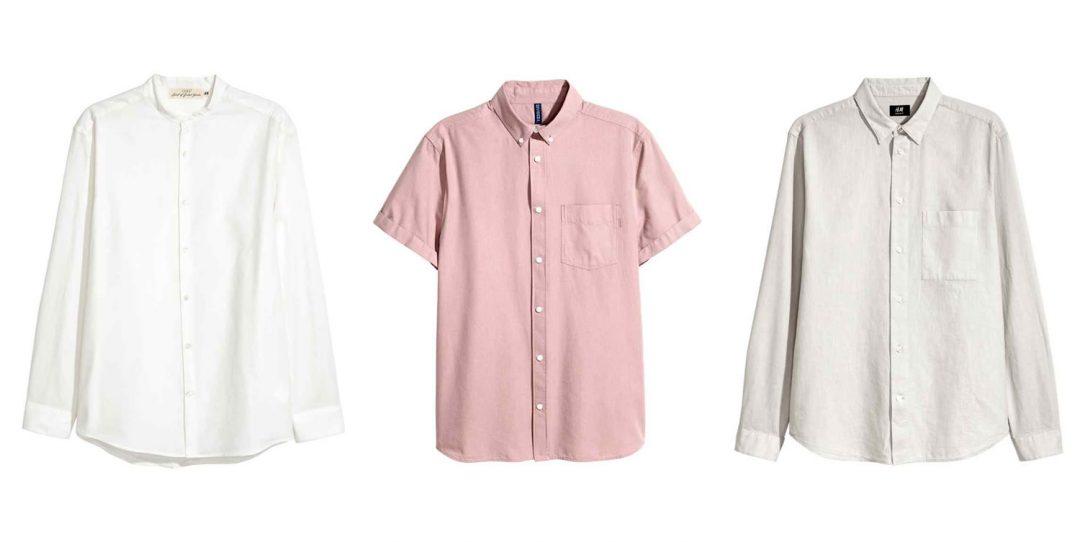 H&M Linen shirts for summer