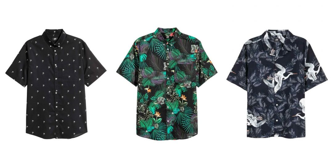 patterned shirts for Summer