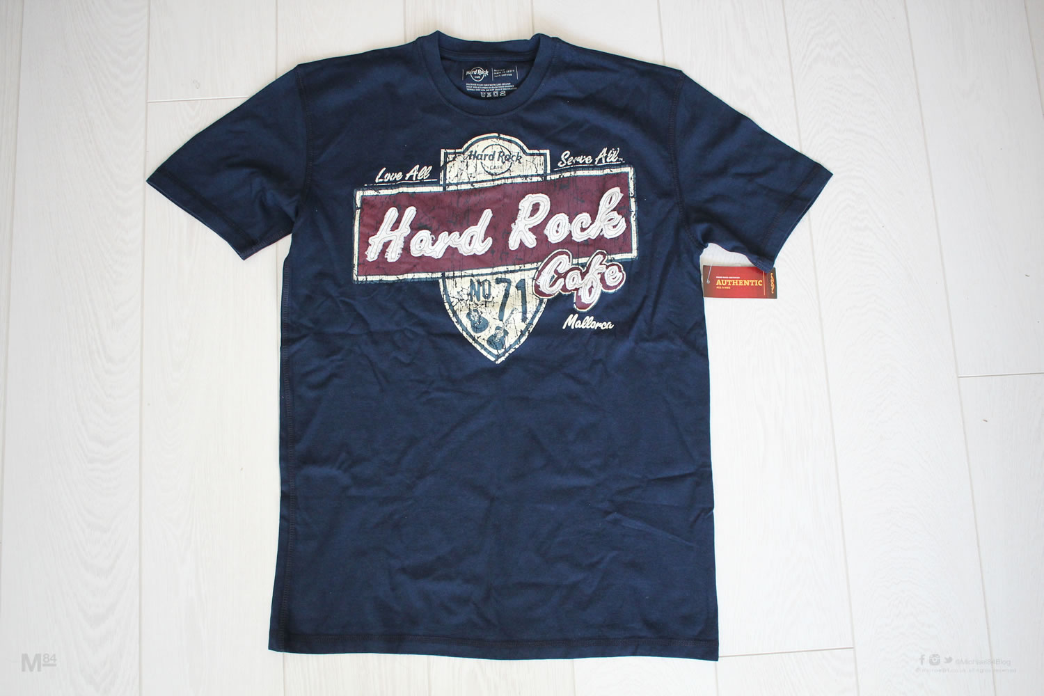 hard rock caf mallorca t shirt michael 84. Black Bedroom Furniture Sets. Home Design Ideas