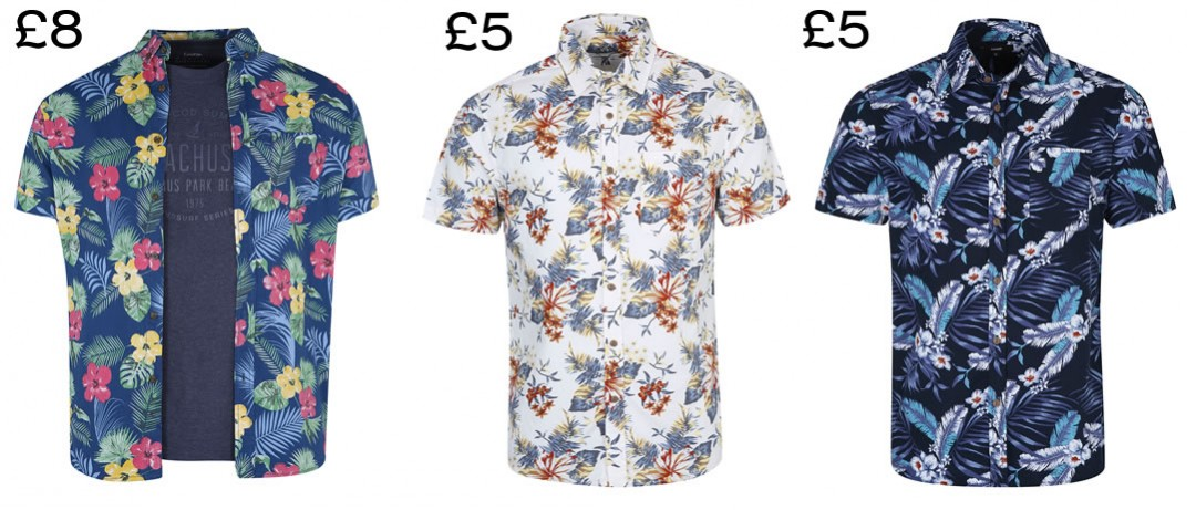 hawaiian shirts on a budget