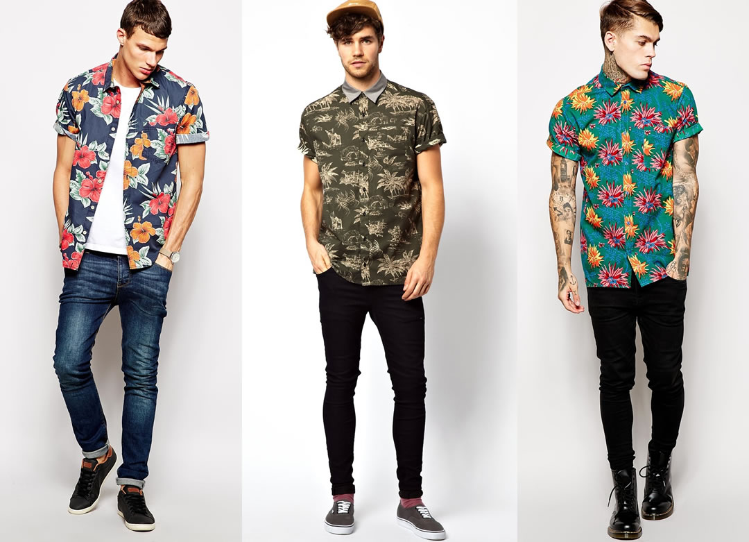 Mens fashion trends hawaiian shirts for the summer for In style mens shirts