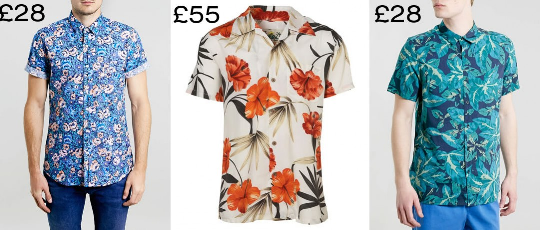 Topman Hawaiian Shirts