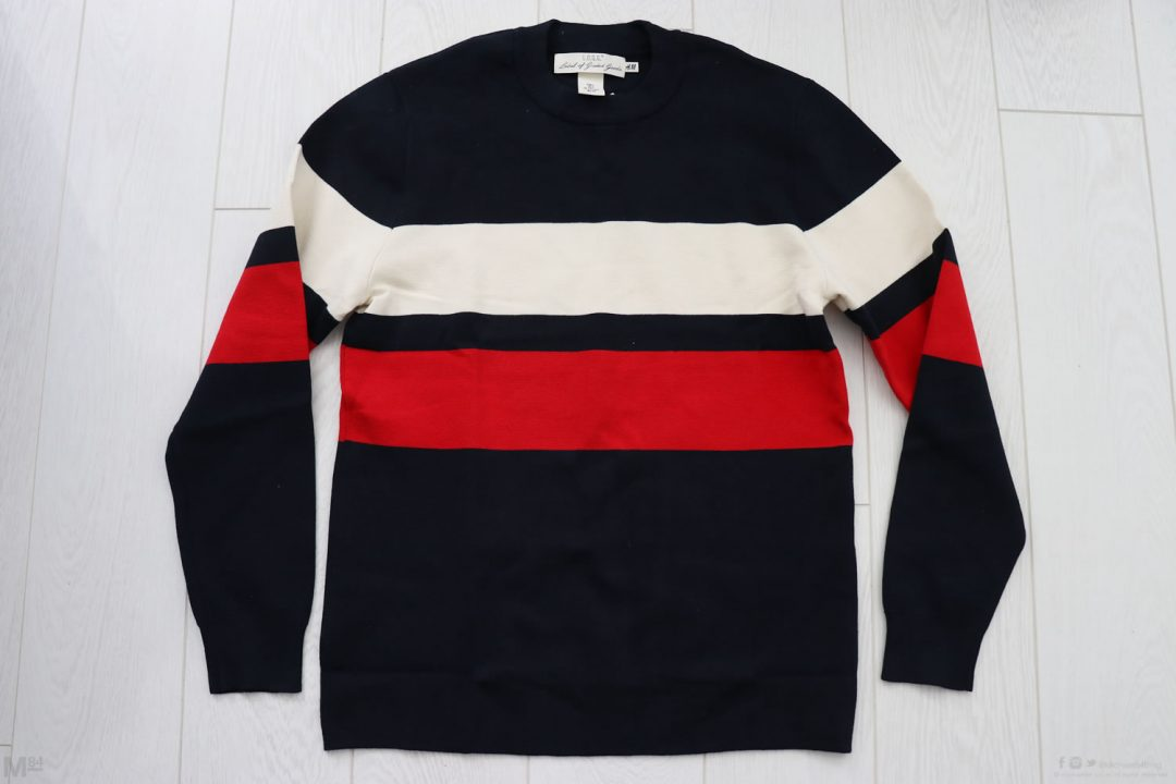 My H&M Stripe Jumper