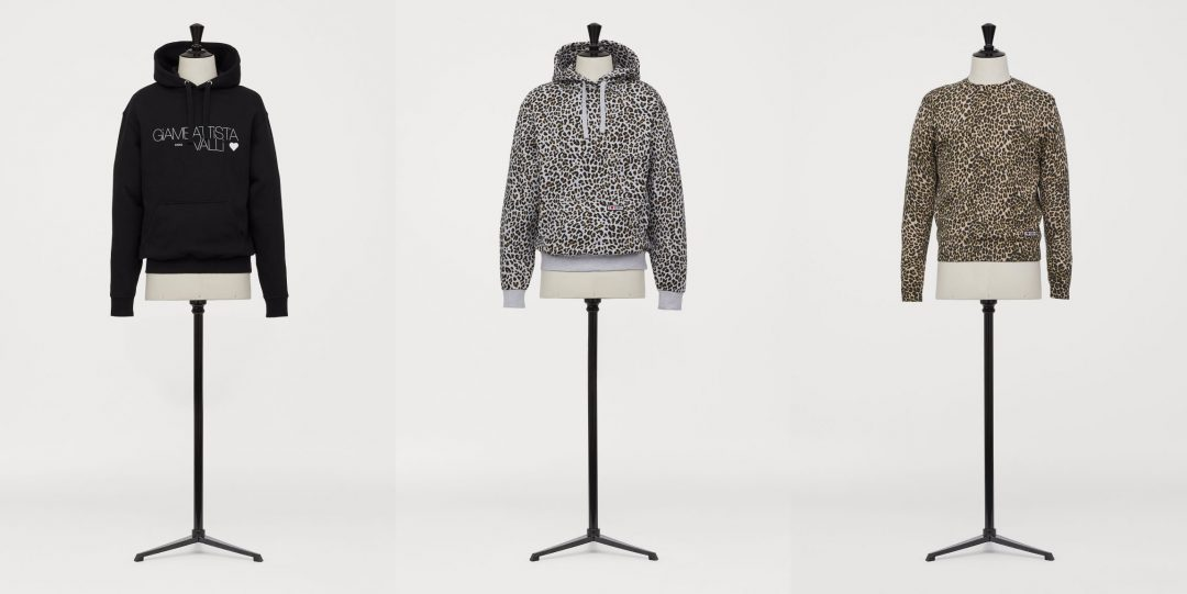 H&M x Giambattista Valli Printed Hoodies