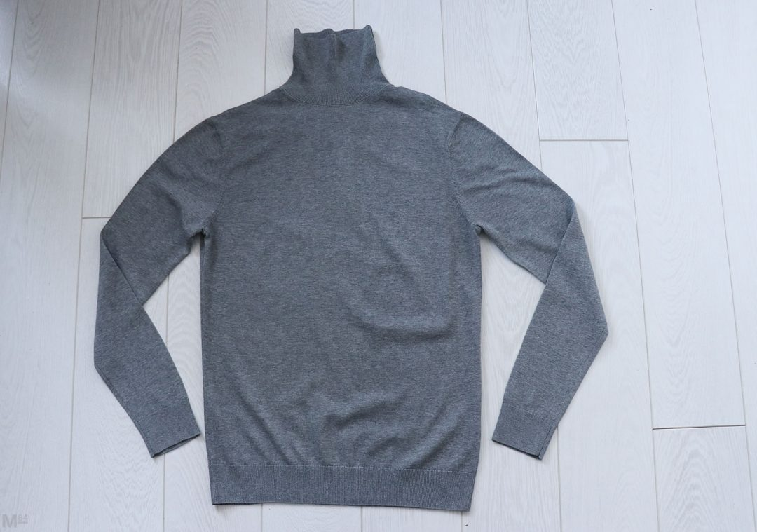 H&M Grey Roll Neck Jumper