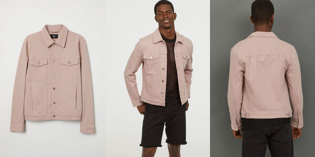 Pink Denim Jacket From H&M - What do you think of this piece?
