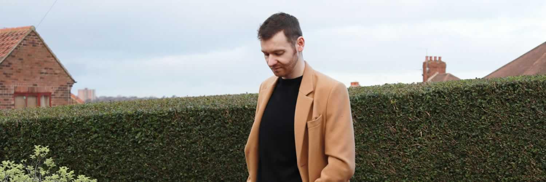 Men's Camel Overcoat Trend For Winter