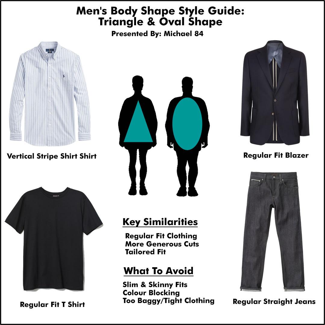 Style Tips For Regular Or Fat Shape Body For Men