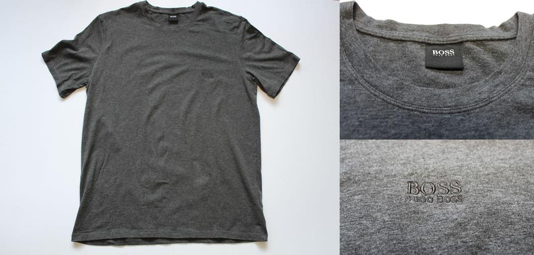 Hugo Boss Grey T Shirt