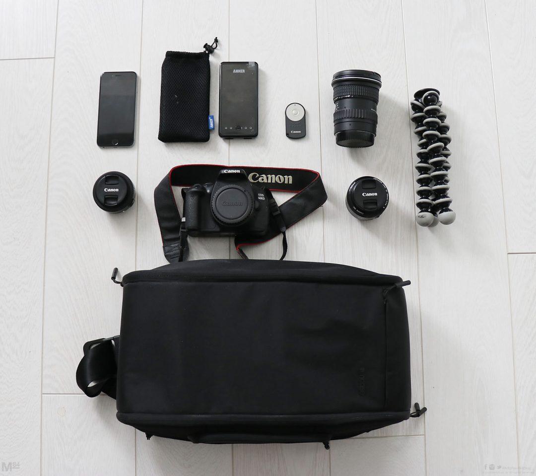 Incase Slingpack Bag Contents Michael 84