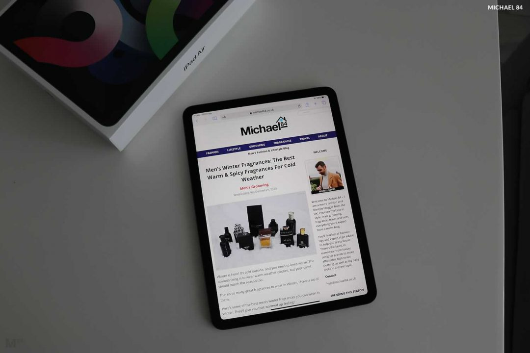iPad Air 4 Review By Michael 84