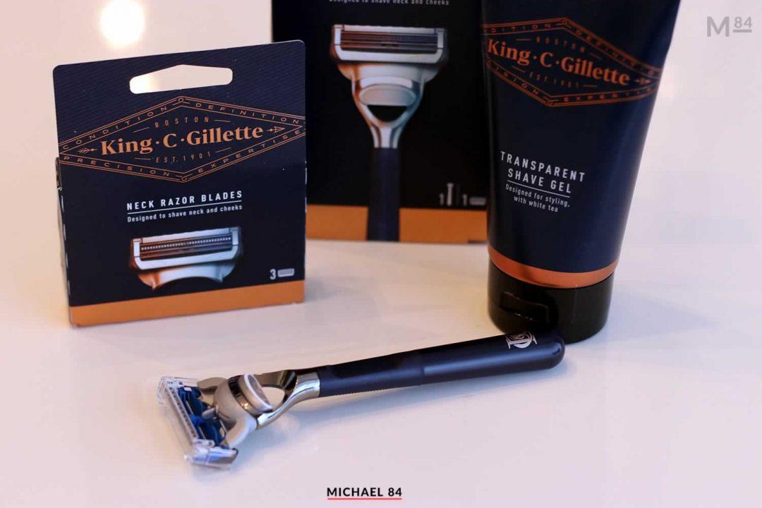 King C Gillette Shaving Review