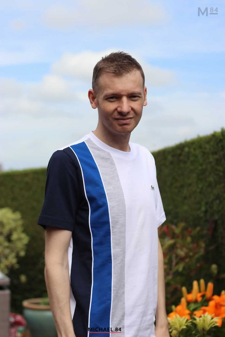 Outfit Of The Day: Lacoste Sport T Shirt With Stripes
