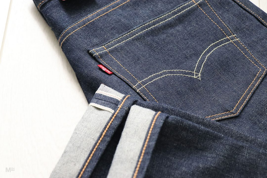 Closeup of Levis Selvedge