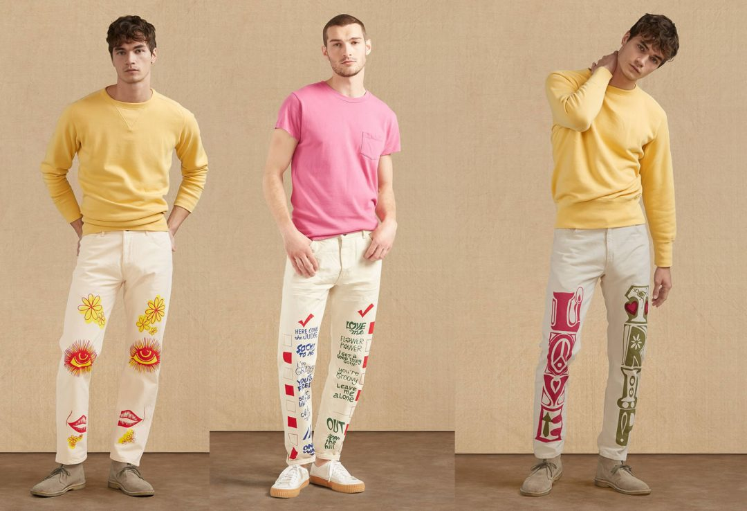 Levi's 1960's inspired jeans for Summer