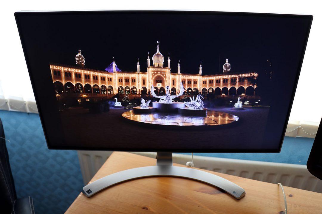 LG Infinity Monitor